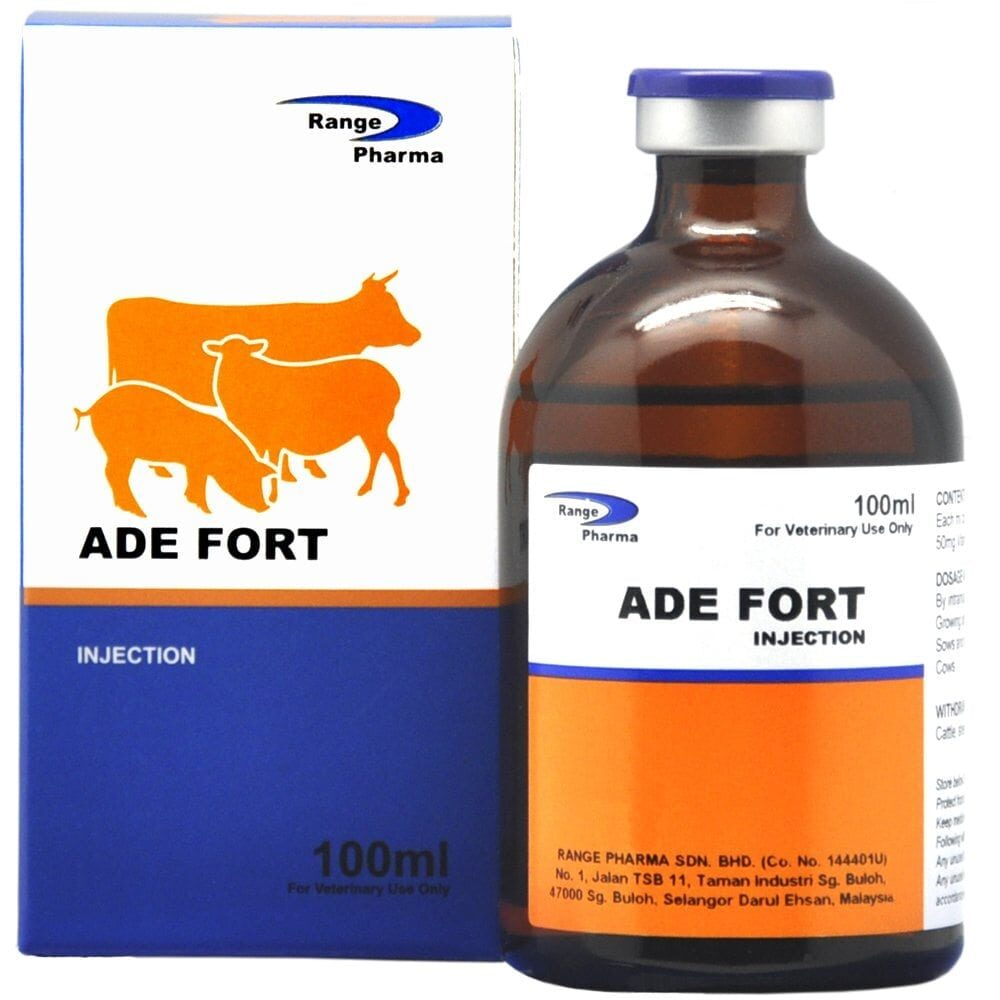ADE Fort Vitamin Injection