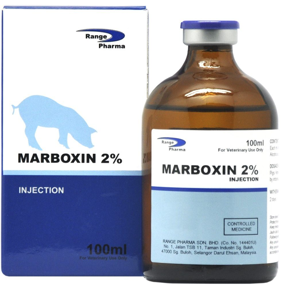 Marbofloxacin 2% Injection