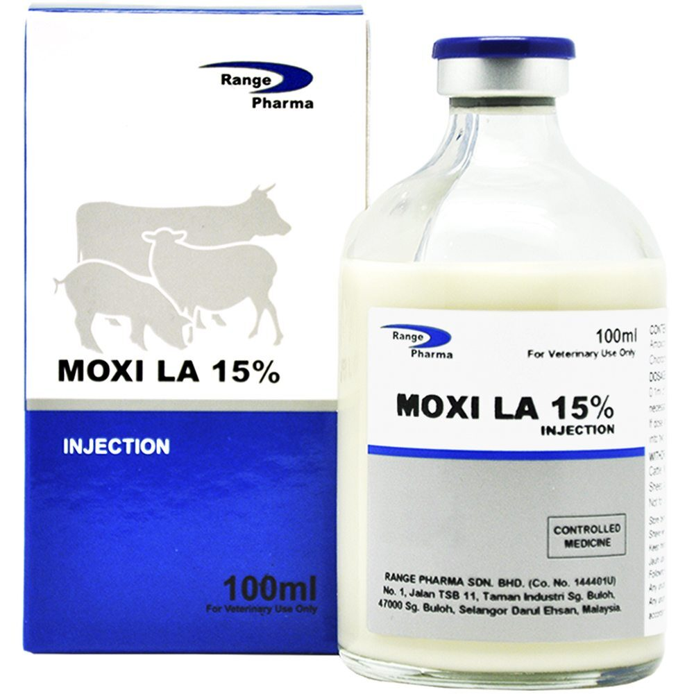 Amoxicillin 150mg/ml long acting injection