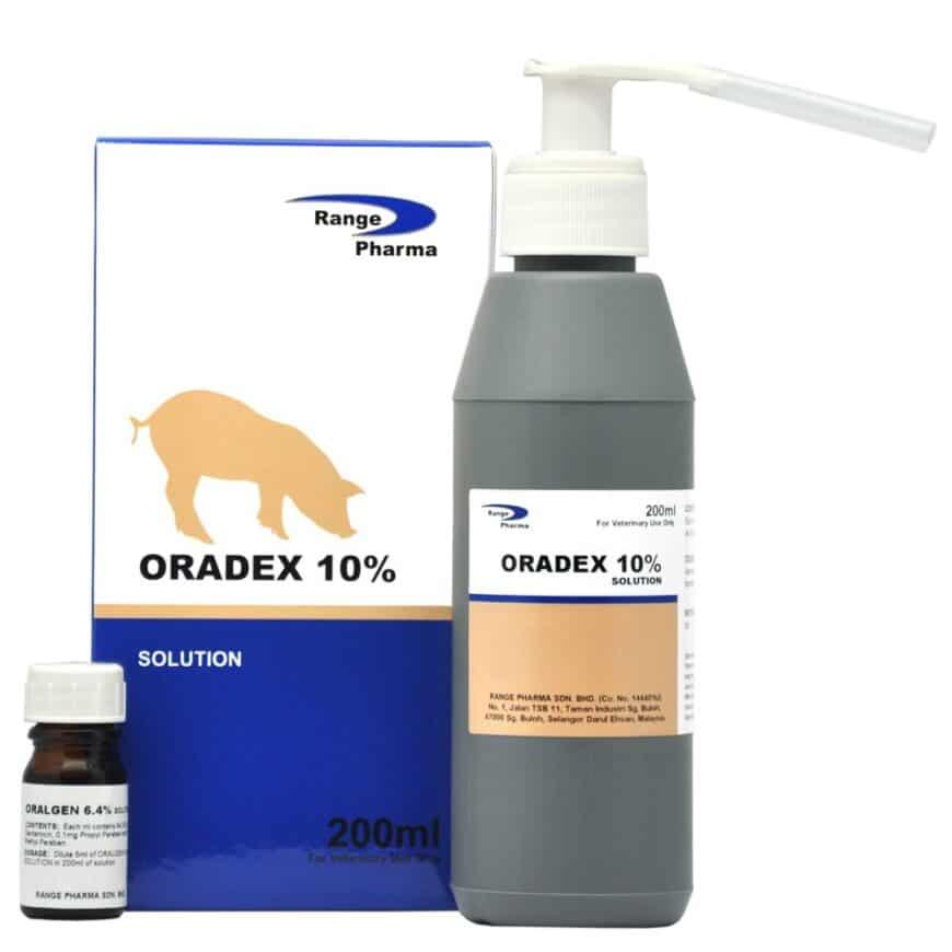 Iron as dextran Oral Pump with Gentamicin Sulphate 6.4%